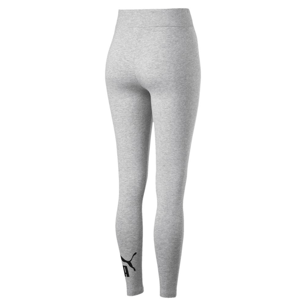 PUMA - female - Леггинсы Essentials Leggings – Light Gray Heather –, Серый