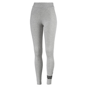 Thumbnail 4 of Women's Essentials Logo Leggings, Light Gray Heather, medium