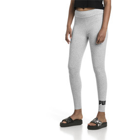 Thumbnail 1 of Women's Essentials Logo Leggings, Light Gray Heather, medium