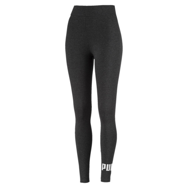 Women's Essentials Logo Leggings, Dark Gray Heather, large