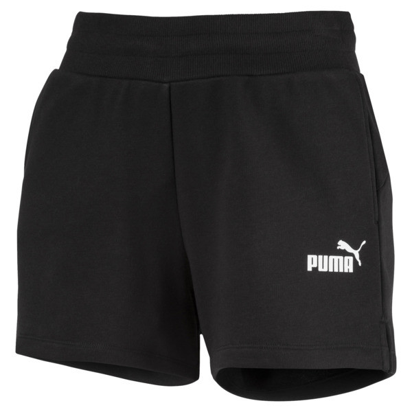 Essentials Women's Sweat Shorts, Cotton Black, large