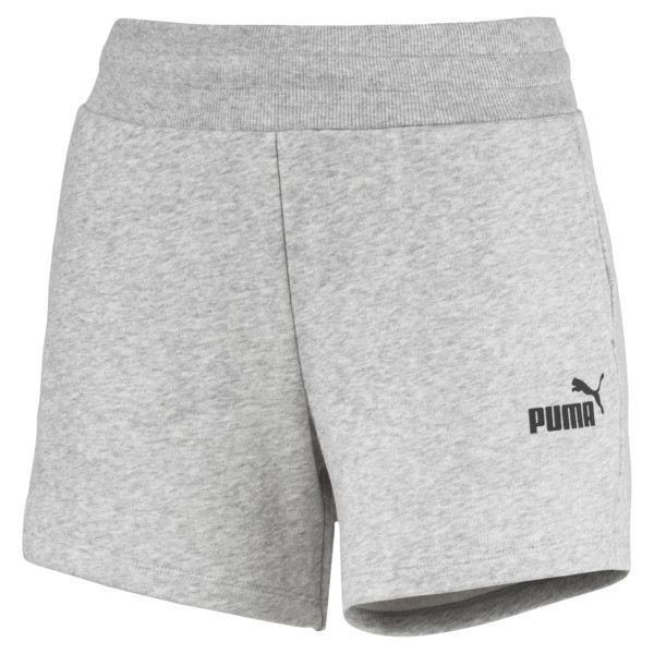Essentials Women's Sweat Shorts, Light Gray Heather, large