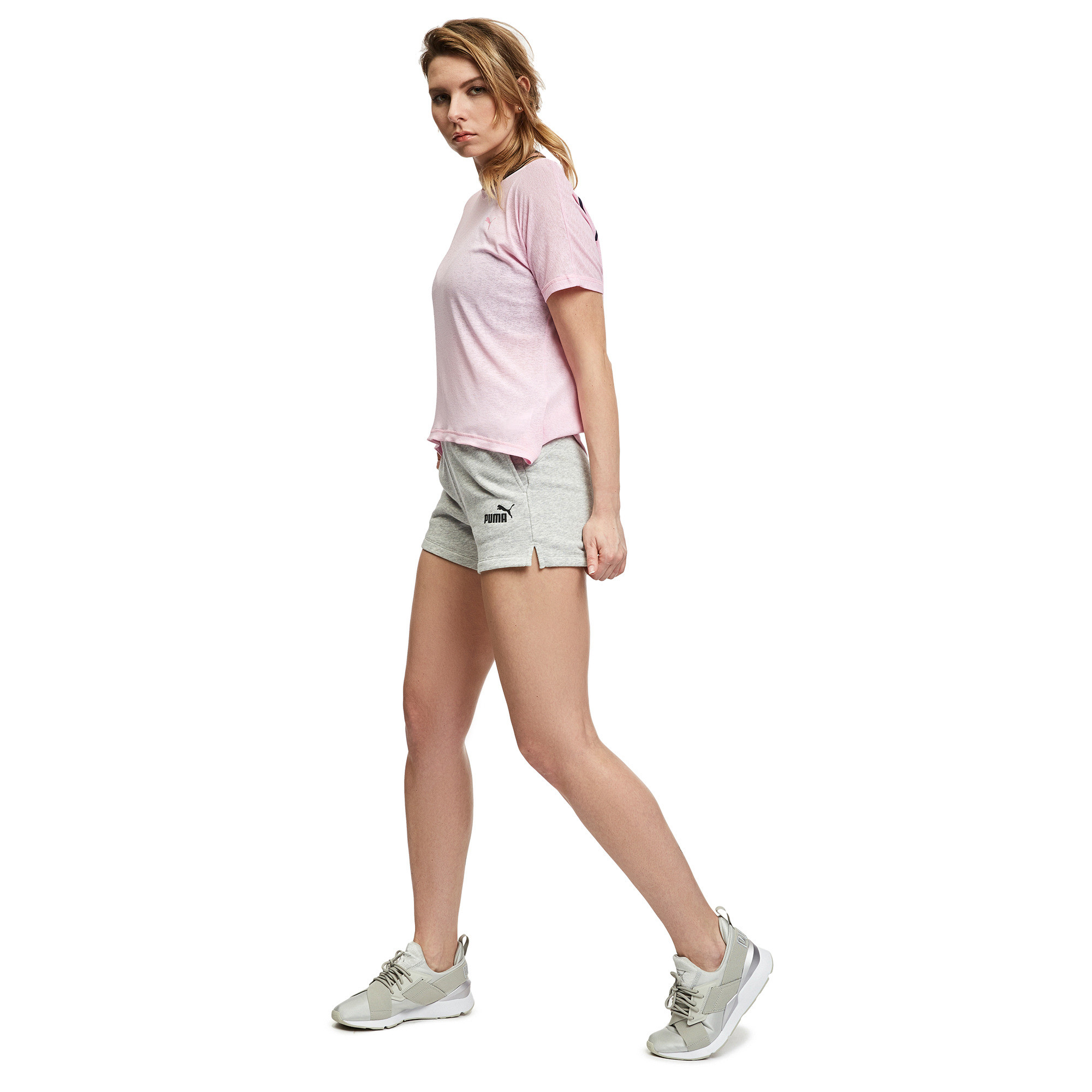 Image Puma Essential Women's Sweat Shorts #3