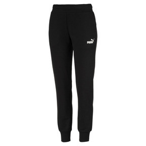 Thumbnail 1 of Essential Knitted Women's Sweatpants, Cotton Black, medium