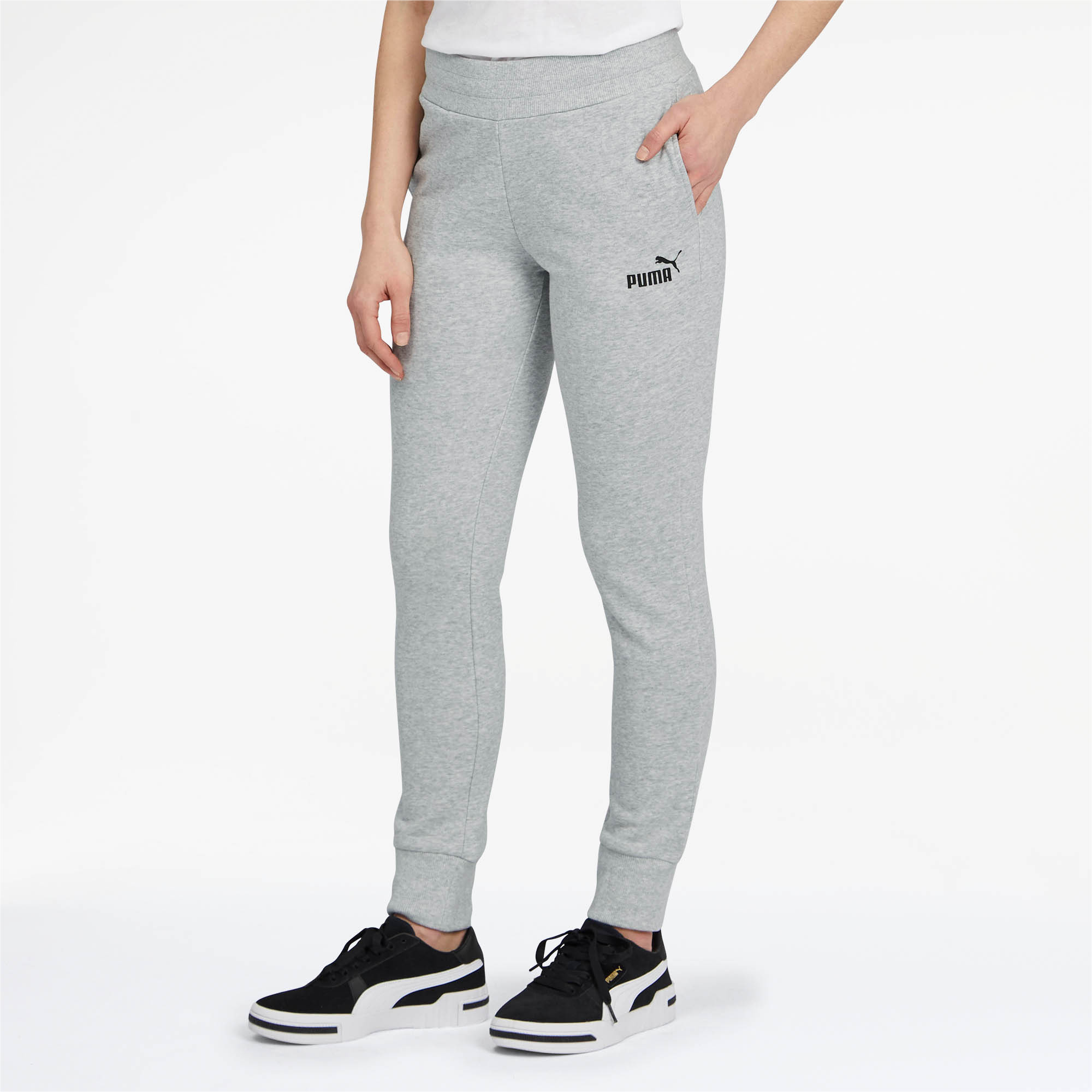 PUMA-Essentials-Women-039-s-Sweatpants-Women-Knitted-Pants-Basics thumbnail 7