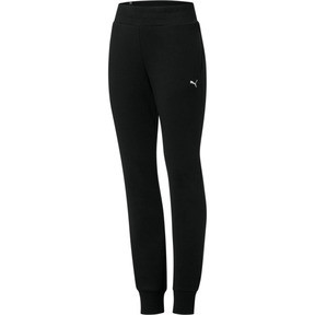 Thumbnail 1 of Essentials Fleece Women's Pants, Cotton Black-Cat, medium