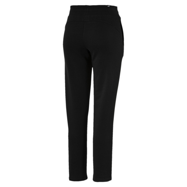 Essentials Fleece Women's Knitted Pants, Cotton Black, large