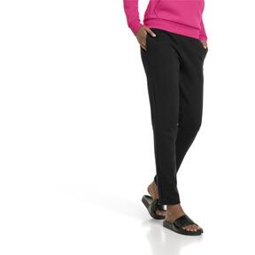 Imagen en miniatura 1 de Pantalones polares de punto de mujer Essentials, Cotton Black, mediana