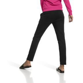 Thumbnail 2 of Essentials Fleece Women's Knitted Pants, Cotton Black, medium