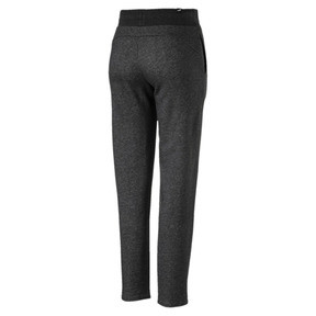 Thumbnail 3 of Essentials Fleece Women's Knitted Pants, Dark Gray Heather, medium
