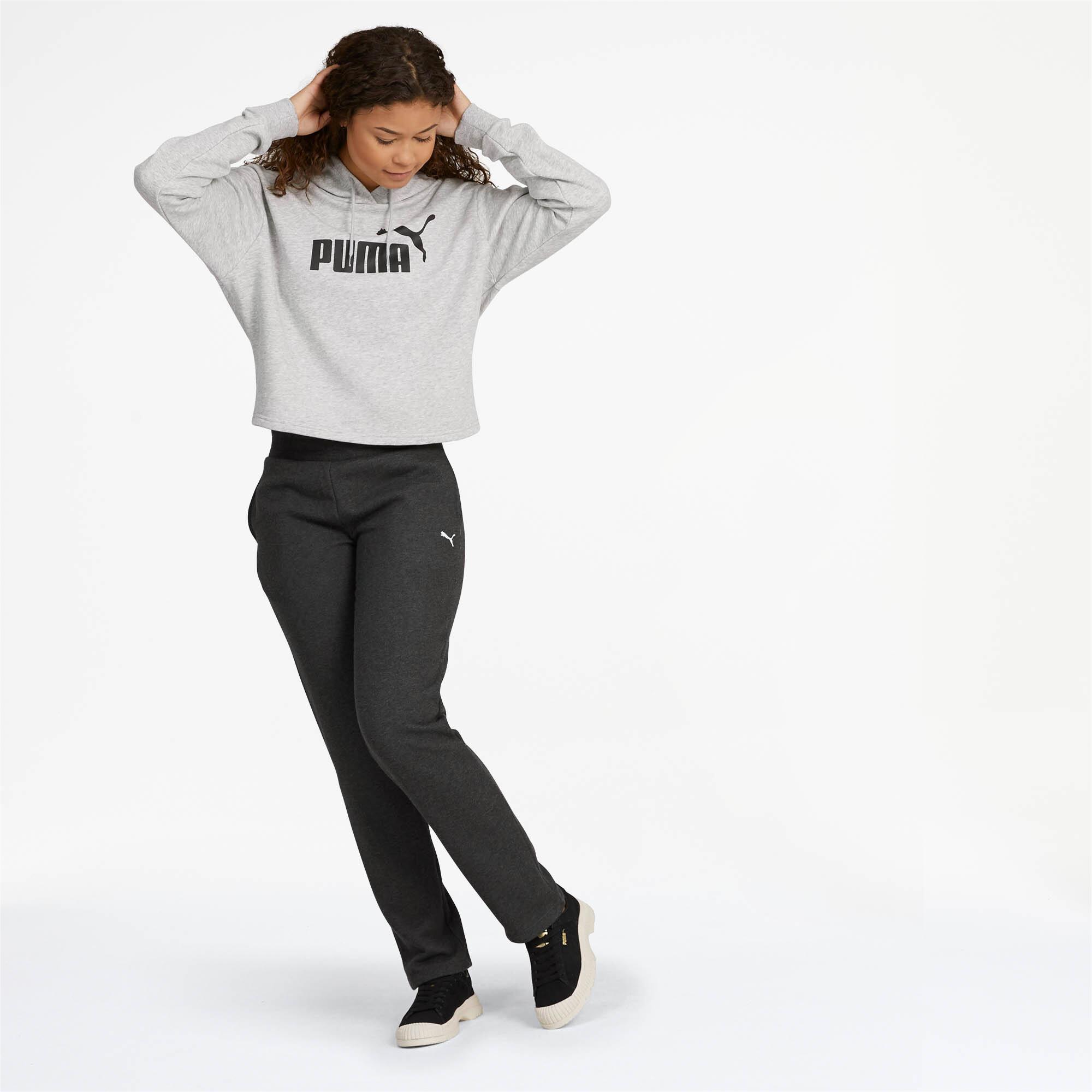 PUMA-Essentials-Fleece-Women-039-s-Knitted-Pants-Women-Knitted-Pants-Basics thumbnail 9