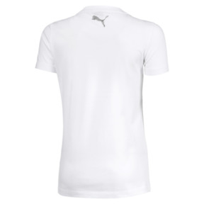 Thumbnail 2 of T-Shirt Style Graphic pour fille, Puma White, medium