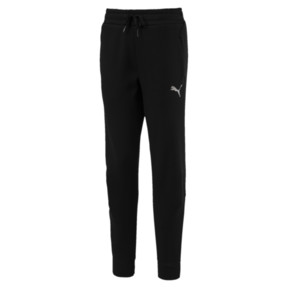 Thumbnail 1 of Girls' Fleece Sweatpants, Cotton Black-1, medium