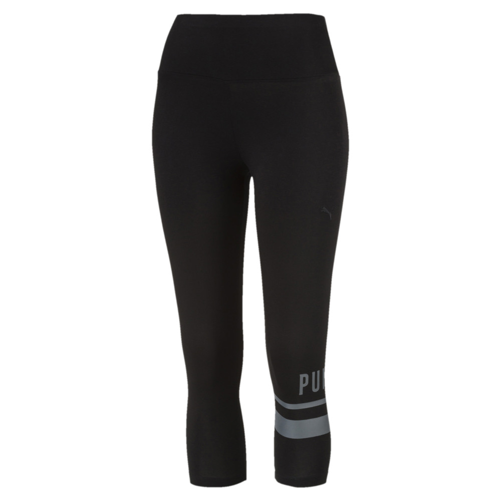 Imagen PUMA ATHLETIC 3/4 Logo Leggings #1