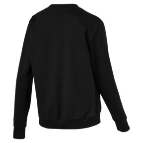 Thumbnail 4 of Athletic Crew Fleece Women's Sweatshirt, Cotton Black-MetalicAsh, medium