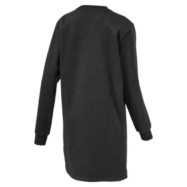 ATHLETIC Dress, DarkGrayHeather-BronzeMedal, large