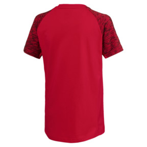 Thumbnail 2 of Jungen Evostripe T-Shirt, Ribbon Red, medium