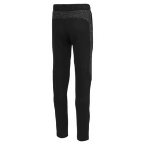 Thumbnail 2 of Evostripe Boys' Pants, Cotton Black, medium