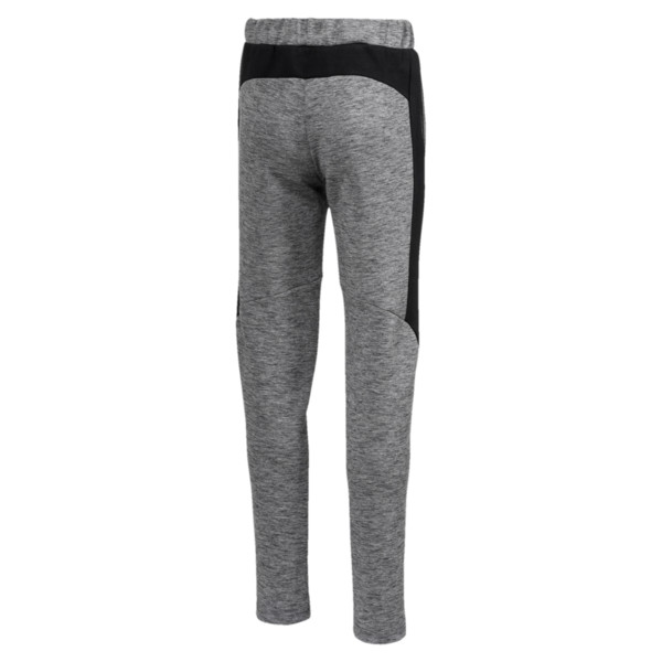 Pantalon de survêtement Evostripe pur garçon, Medium Gray Heather, large
