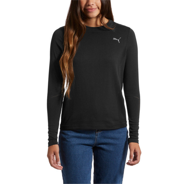 evoKNIT Seamless Long Sleeve Top, 01, large