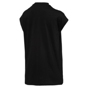 Thumbnail 4 of Damen Evostripe T-Shirt, Cotton Black, medium