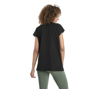 Thumbnail 3 of Damen Evostripe T-Shirt, Cotton Black, medium