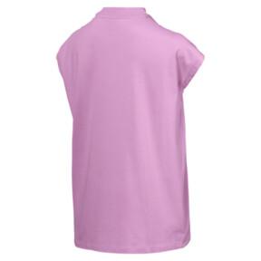 Thumbnail 4 of Damen Evostripe T-Shirt, Orchid, medium