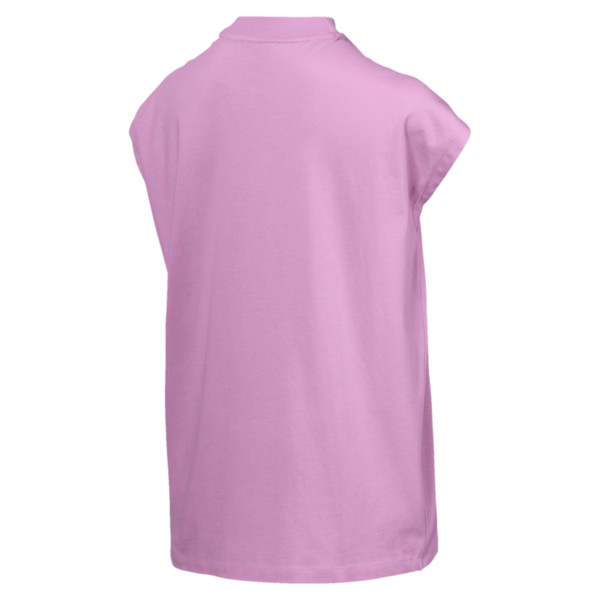 Evostripe Women's Tee, Orchid, large
