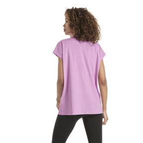 Thumbnail 3 of Damen Evostripe T-Shirt, Orchid, medium