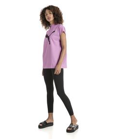 Thumbnail 5 of Damen Evostripe T-Shirt, Orchid, medium
