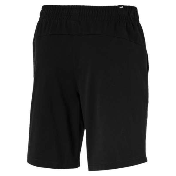 Short en jersey Essentials pour homme, Puma Black, large