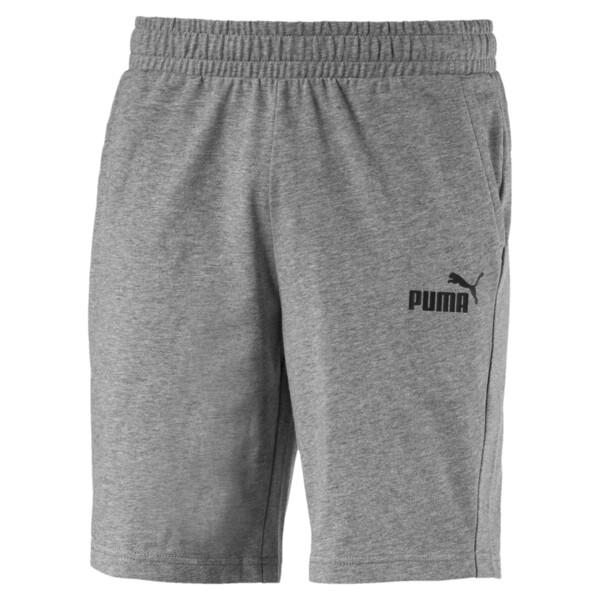 Essentials Jersey Herren Shorts, Medium Gray Heather, large