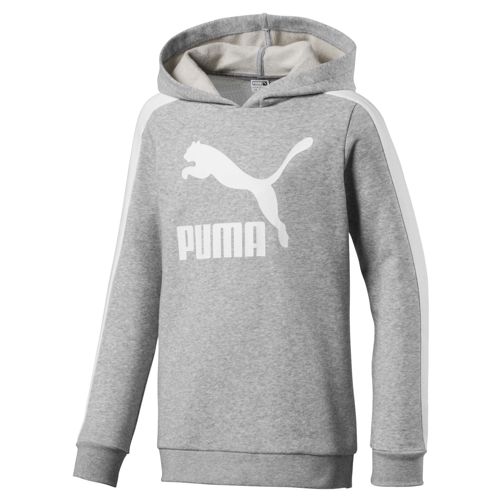 Image Puma Classics T7 Girls' Hoodie #1