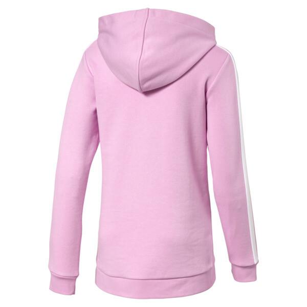 Chaqueta con capucha Classics T7 para niña joven, Pale Pink, grande