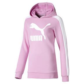 Miniatura 1 de Chaqueta con capucha Classics T7 para niña joven, Pale Pink, mediano