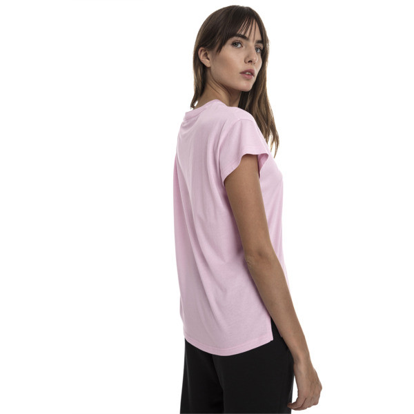 Active Women's Tee, Pale Pink, large