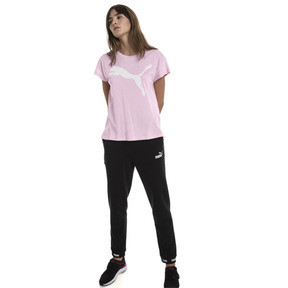 Thumbnail 3 of Active Women's Tee, Pale Pink, medium
