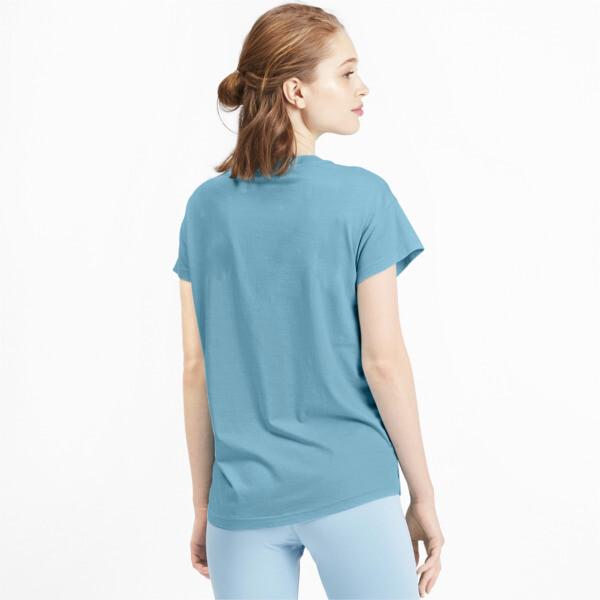 Active Women's Tee, Milky Blue, large