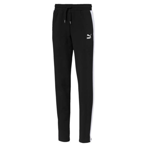 Classics Girls' T7 Sweatpants JR, Cotton Black, large