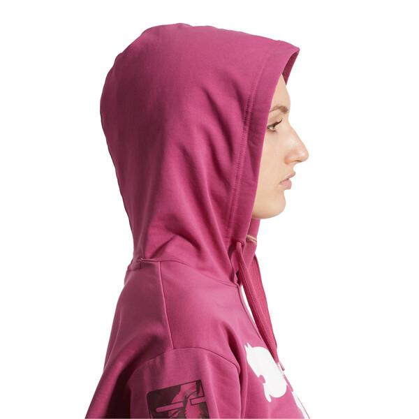 Modern Sport Women's Hoodie, Magenta Haze, large
