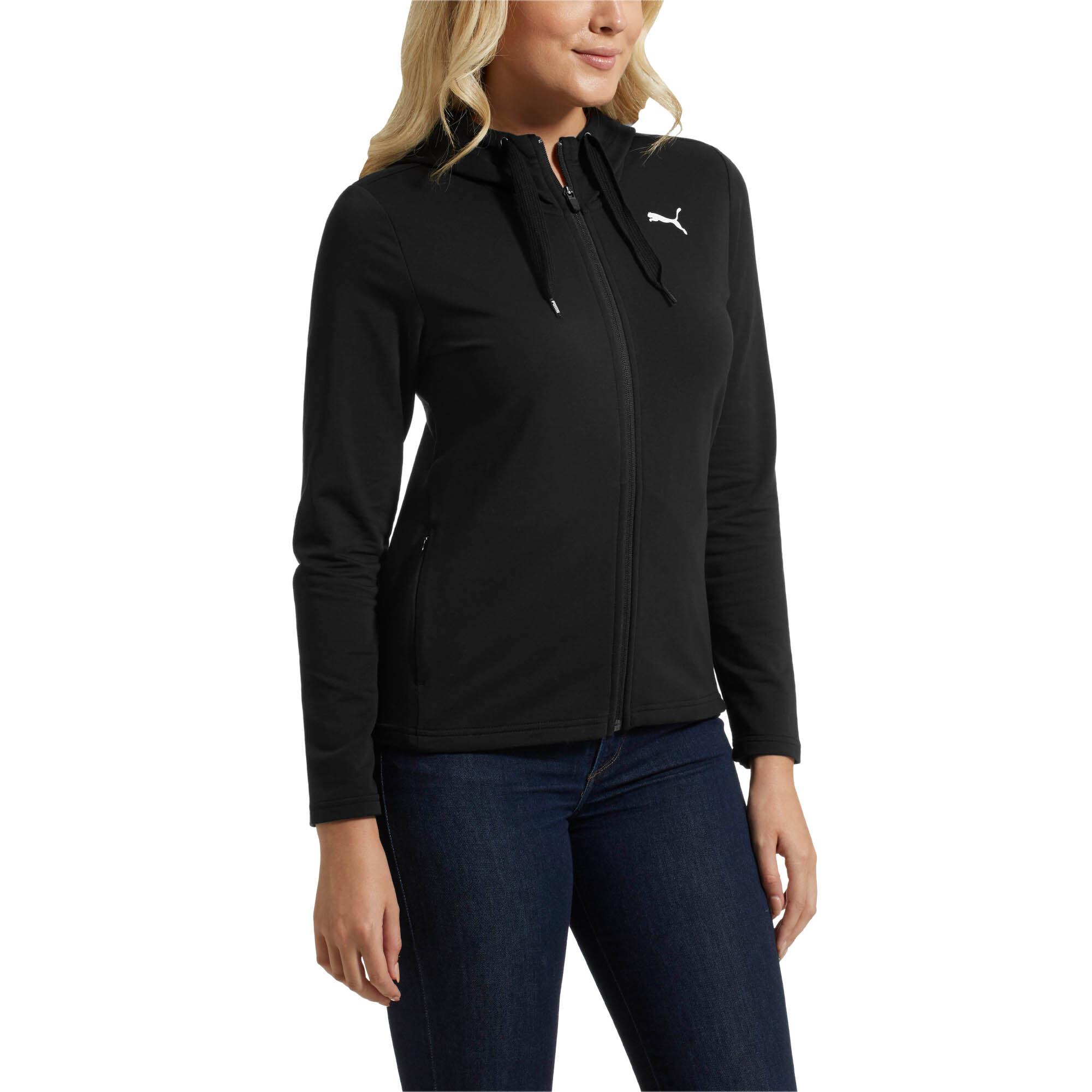 PUMA-Women-039-s-Modern-Sport-Full-Zip-Hoodie thumbnail 4