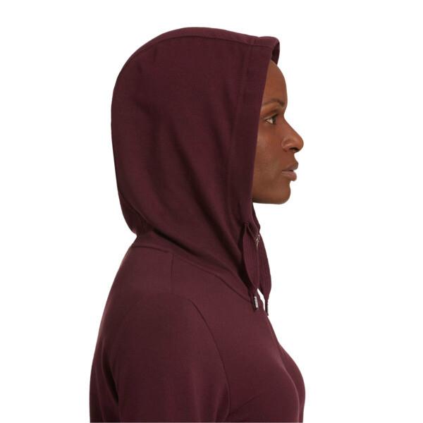 Modern Sport Women's Full Zip Hoodie, Fig, large