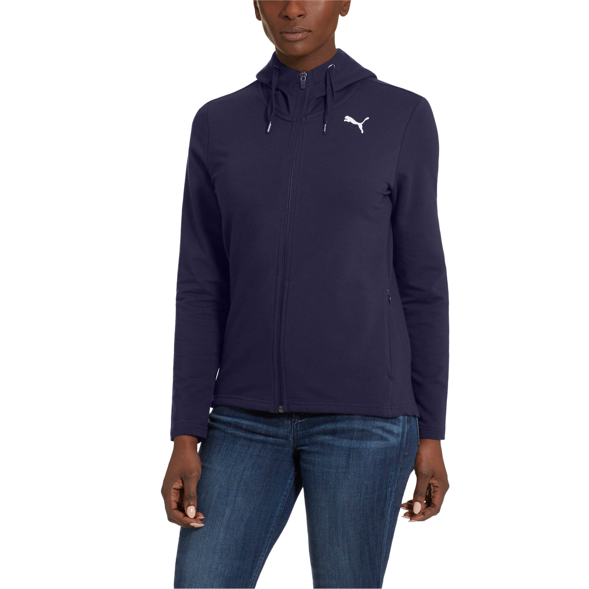 264636a38 PUMA Modern Sport Women s Full Zip Hoodie Women Sweat Basics