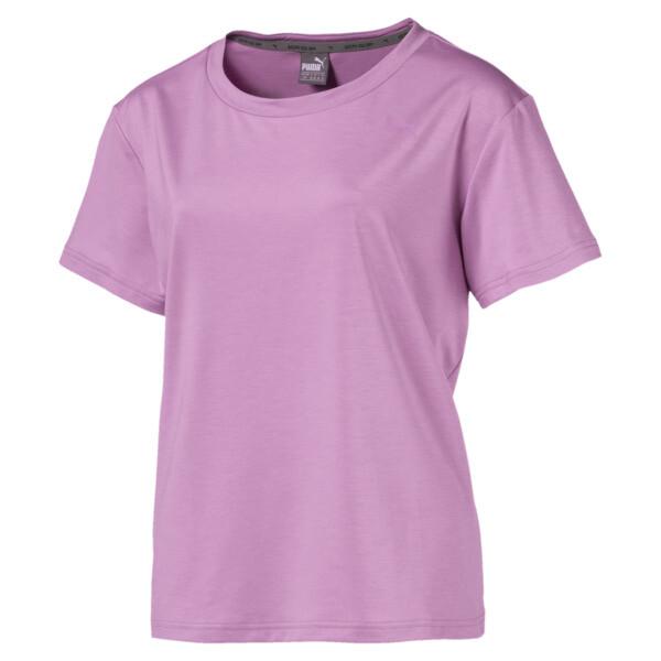 Soft Sport Women's T-Shirt, Orchid-heather, large
