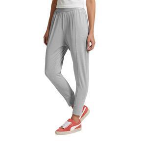 Thumbnail 2 of Soft Sport Women's Sweatpants, Light Gray Heather, medium