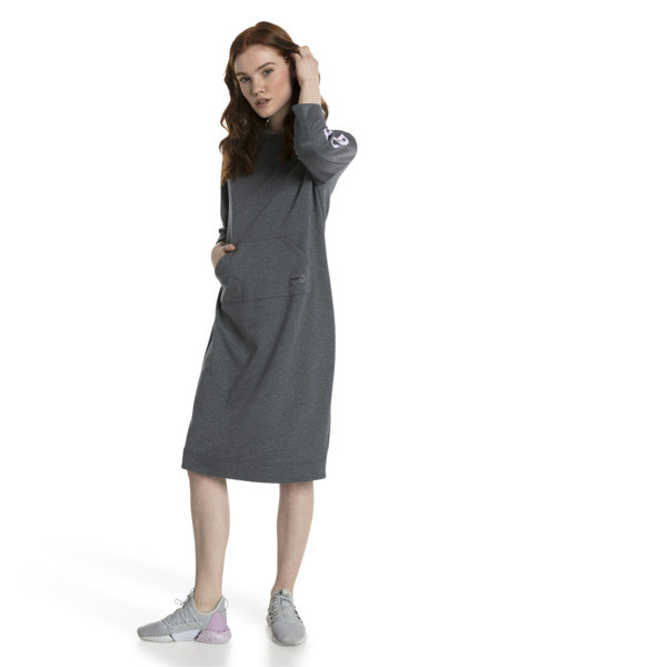 Fusion Women's Dress, Iron Gate Heather, large