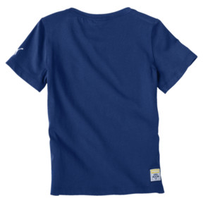 Thumbnail 2 of PUMA x MINIONS Boys' Tee JR, Sodalite Blue, medium