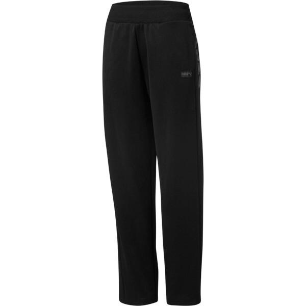 Fusion Women's Sweatpants, Cotton Black, large