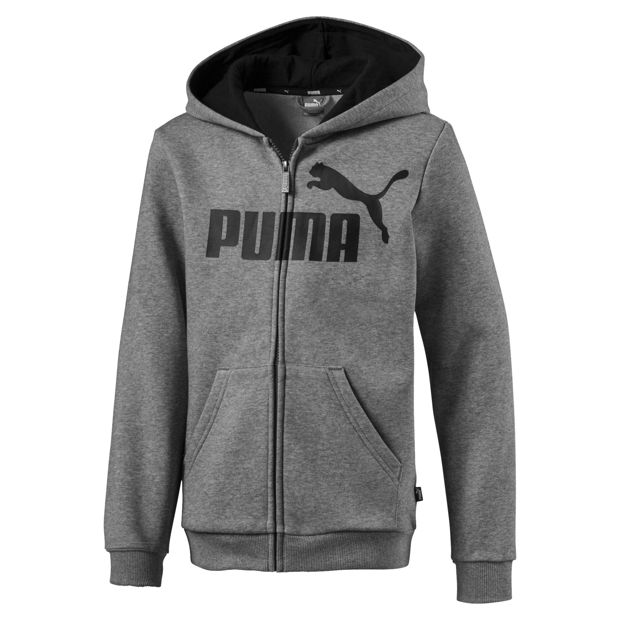 Image Puma Essentials Hooded Boys' Jacket #1