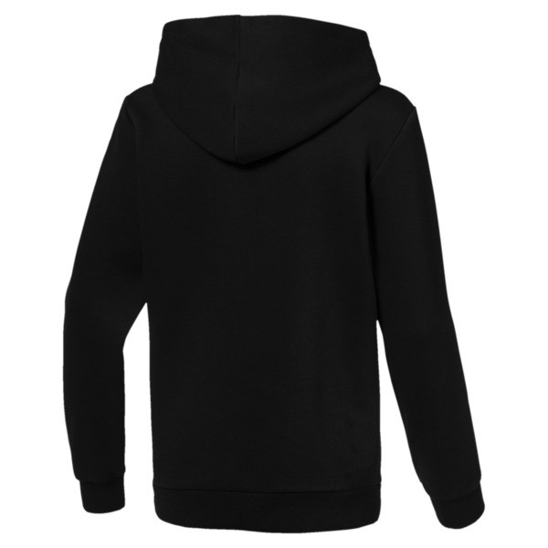 Essentials Boys' Hoodie, Cotton Black, large